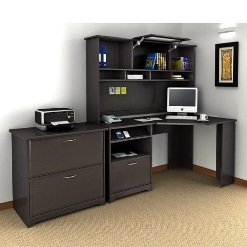 bush cabot computer desk with 2 drawer cab007epo red desks workstations best buy canada. Black Bedroom Furniture Sets. Home Design Ideas