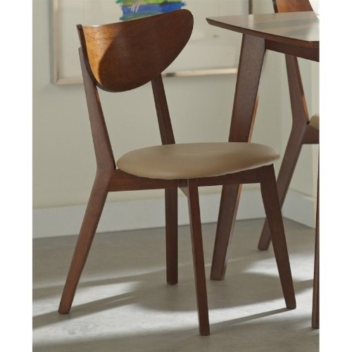 Coaster Kersey Curved Back Dining Chair In Chestnut : Dining Chairs   Best  Buy Canada