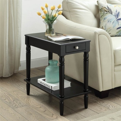Convenience Concepts French Country End Table In Black More Living - Convenience concepts french country coffee table