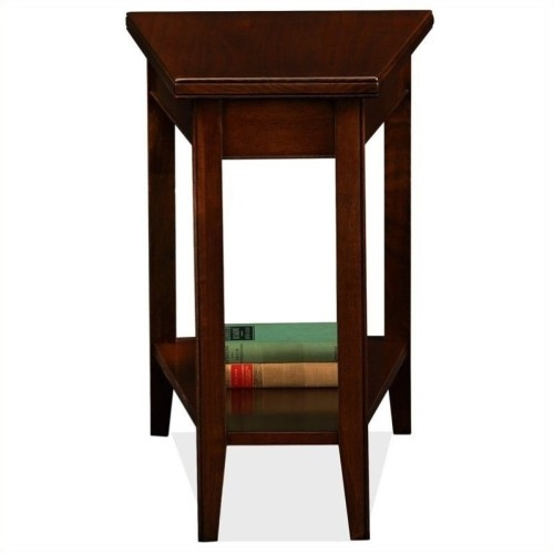 Leick Furniture Laurent Transitional Rectangular End Table