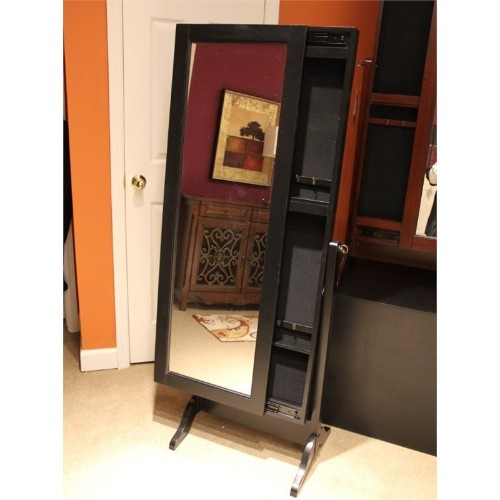 Powell Furniture Jewelry Armoire in Black : Armoires ...