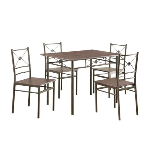 Coaster 5 Piece Dining Set In Walnut Dining Sets Best Buy Canada