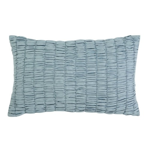 Ashley Stitched Throw Pillow In Sky Blue Decorative Pillows Best Interesting Cheap Decorative Pillows Canada