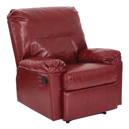 Office Star OSP Designs Recliners Kensington Recliner in Merlot