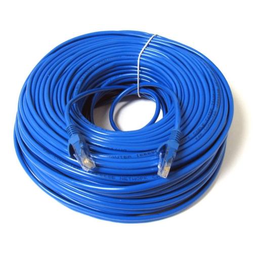 Konex (TM) Ethernet Cable Cat6 100ft Blue, Network Wire Cat 6 Patch ...