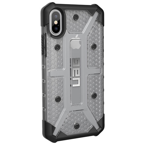 official photos c7923 729b9 UAG Plasma Fitted Hard Shell Case for iPhone X - Ice/Black
