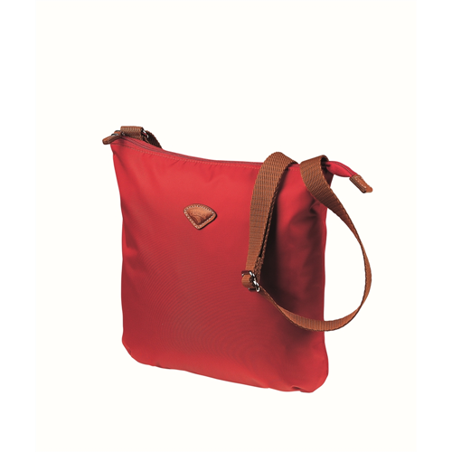 JUMP (NICE 6581) CROSS OVER IPAD BAG IN HIGH DENSITY TWILL NYLON, RED