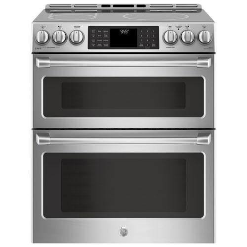 Ge Caf 30 Induction Self Clean Double Oven Built In 5