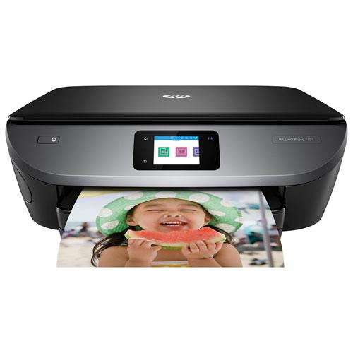Imprimante photo tout-en-un sans fil ENVY 7155 de HP