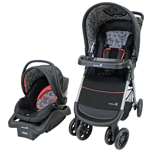 Safety 1st Amble Quad Standard Stroller With Infant Car Seat