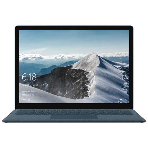 Surface Laptop 13,5 po Microsoft-Bleu cobalt (Core i7-7660U Intel/SSD 512 Go/RAM 16 Go/Win 10 S) Ang