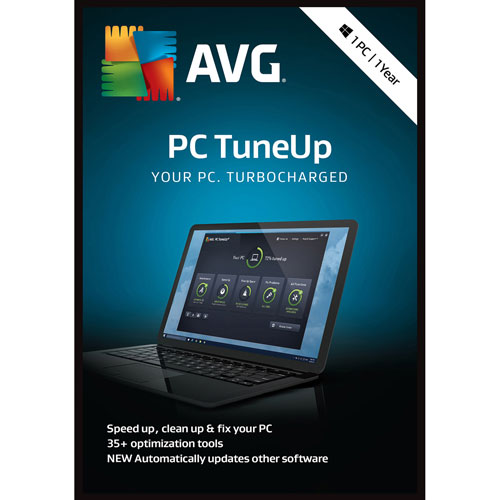 AVG PC TuneUp 2018 - 1 an