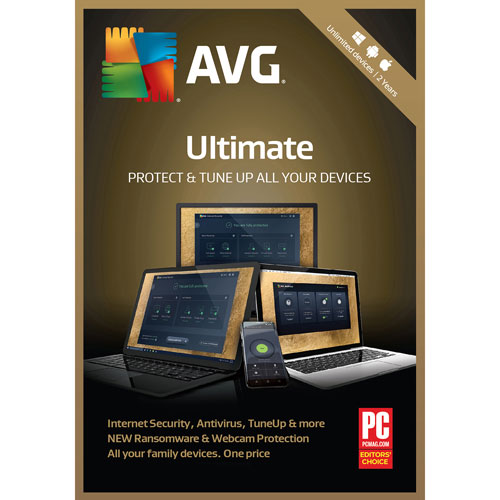 AVG Ultimate 2018 - Unlimited Users - 2 Years