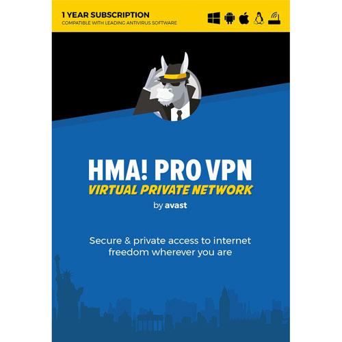 Avast HMA! Pro VPN - 1 an