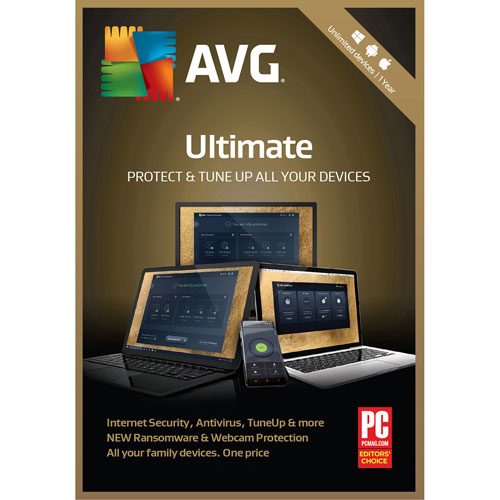 AVG Ultimate 2018 - Unlimited Users - 1 Year