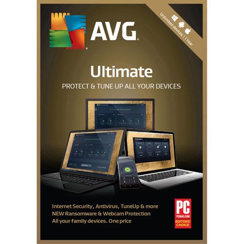 AVG Ultimate 2018 - Utilisateurs illimités - 1 an