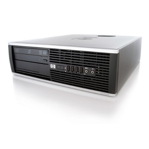 HP 6005 PRO SFF AMD PHENOM II X3 B75 3.0 GHZ DDR3 8GB 250GB DVD WIN10 HOME 3YR - Refurbished
