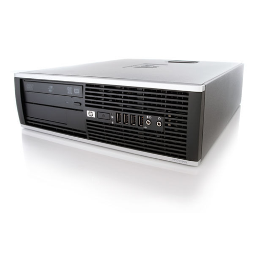 HP 6005 PRO SFF AMD PHENOM II X3 B75 3.0 GHZ DDR3 8GB 2TB DVD WIN10 HOME 3YR - Refurbished