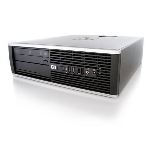 HP 6005 PRO SFF AMD PHENOM II X3 B75 3.0 GHZ DDR3 8GB 2TB DVD WIN10 HOME 5YR WTY USB WIFI- Refurbished