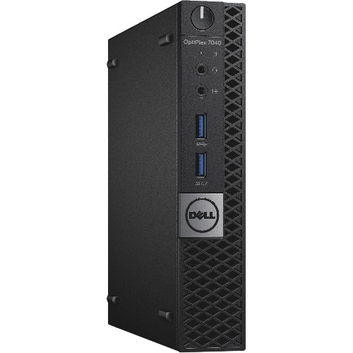 DELL OPTIPLEX 7040 MICRO PC i7 6700T 4.0GHZ 8GB DDR4 256 SSD BT WIN10 PRO 3YR - Refurbished