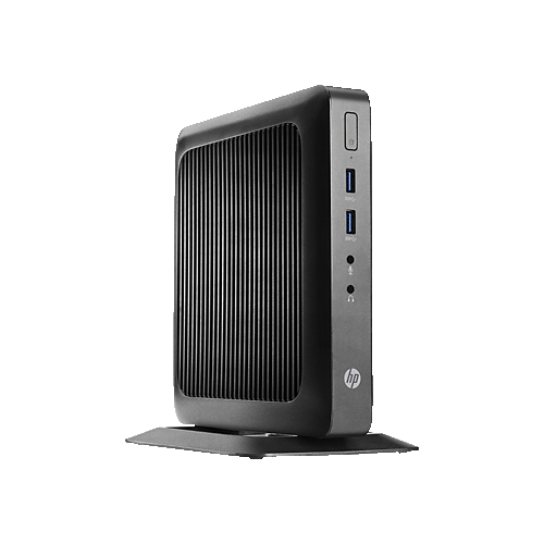 HP t520 Flexible Thin Client PC (AMD GX-212JC Dual-Core / 32GB SSD / 8 / AMD Radeon HD / Windows 10) - (V2V45UT#ABA)