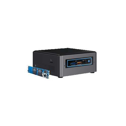 Intel NUC7I3BNHX1 Mini PC (Intel Core i5-6260U / Intel Iris Plus Graphics 620) - (BOXNUC7I3BNHX1)