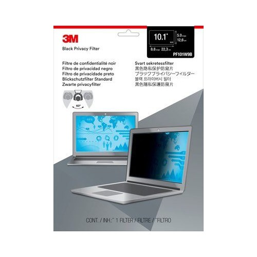 "3M Privacy Filter for 10.1"" Widescreen Laptop (PF101W9B)"