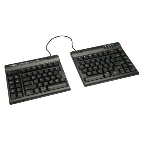 "Kinesis Freestyle2 9"" Pre-assembled Keyboard for Mac (KB800HMB-US)"
