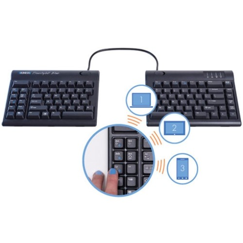 Kinesis Freestyle2 Bluetooth Keyboard for PC (KB800PB-BT)