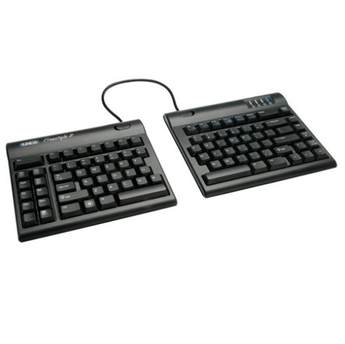 "Kinesis Freestyle2 9"" Pre-assembled with VIP3 Keyboard for PC (KB820PB-US)"