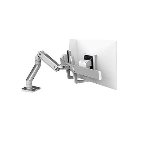 Ergotron HX Desk Dual Monitor Arm Mount (45-476-026)