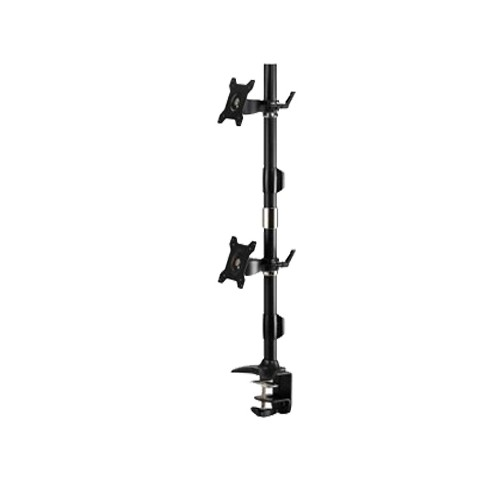 "Amer Network Dual Vertical Clamp 24"" Monitor Mount (AMR2CV)"