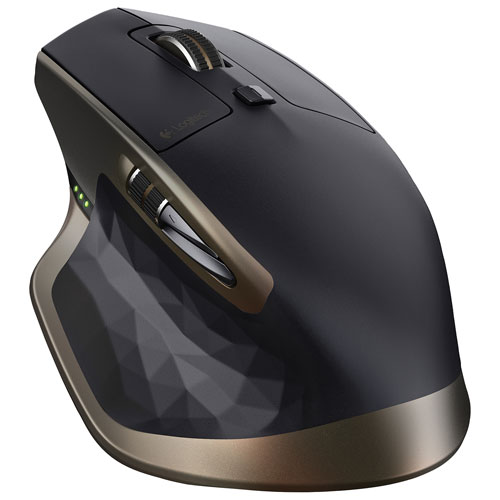 Souris laser Bluetooth MX Master de Logitech - Brun