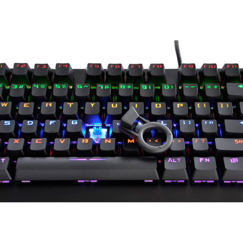 Lexma K900 Backlit Mechanical Blue Switch Gaming Keyboard - English