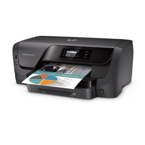 HP Officejet Pro 8210 Inkjet Printer with Wireless Networking and Duplex (D9L64A#B1H)