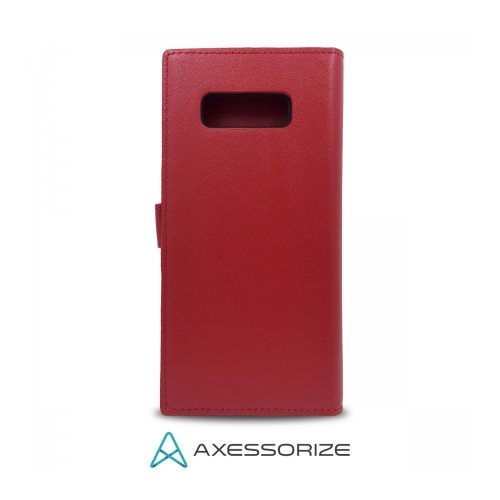 Axessorize Étui Folio Samsung Galaxy Note 8 Rouge