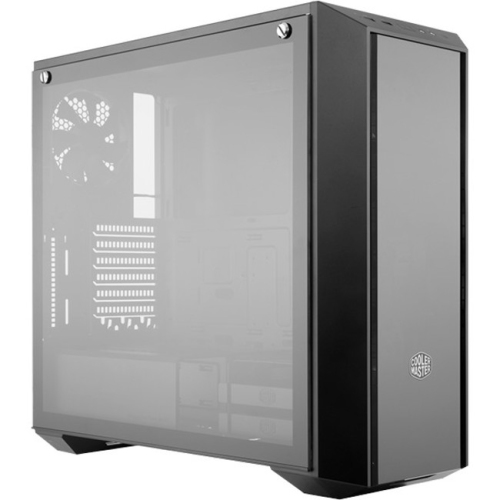 Cooler Master MasterBox Pro 5 RGB with 3x 120mm RGB Fans, DarkMirror Front Panel, Tempered Glass Side Panel Mid-Tower Case