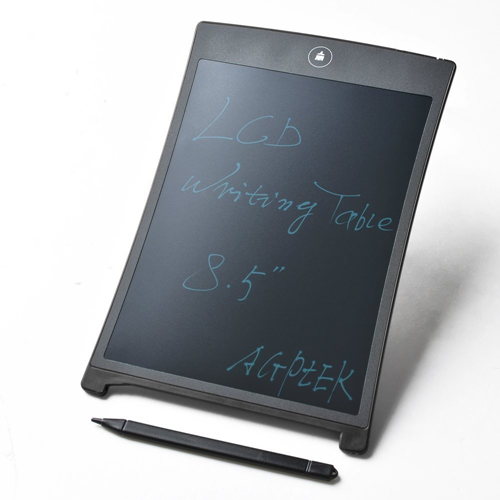 AGPtek 8.5 inch Paperless LCD Writing Pad Tablet, Graphics Drawing Pen Tablet - Black