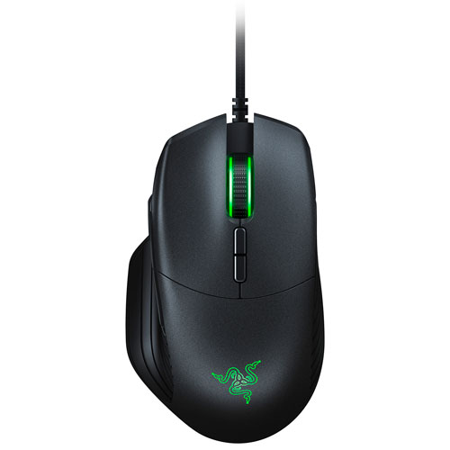 Razer Basilisk FPS 16000 DPI Optical Gaming Mouse - Black