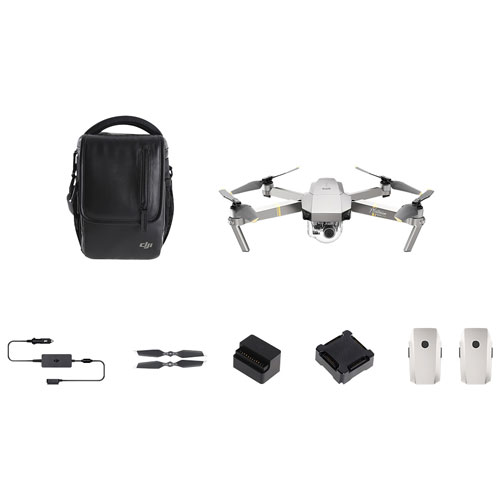 DJI Mavic Pro Quadcopter Drone With 4K UHD Camera Controller Fly More Bundle