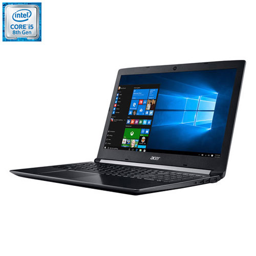 Portable de 15,6 po Aspire 5 d'Acer - Noir (Core i5-8250U d'Intel/SSD 256 Go/RAM 8 Go/Windows 10)