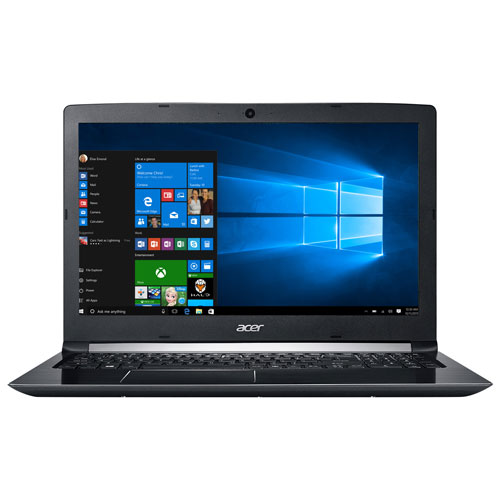 "Acer Aspire 5 15.6"" Laptop - Black (AMD A12-9720 / 1TB HDD / 8GB RAM / Windows 10)"
