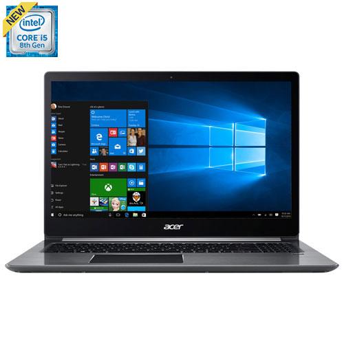 Portable Swift 3 de 15,6 po Acer - Arg (Core i5-8250U Intel/SSD 128 Go/DD 1 To/RAM 8 Go/Windows 10)