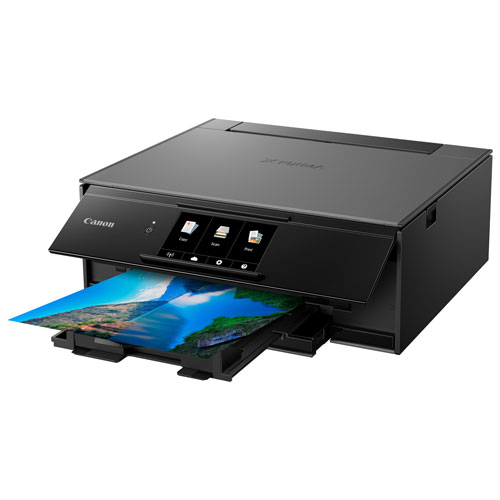 Canon PIXMA TS9120 Wireless All-in-One Inkjet Printer - Only at Best Buy
