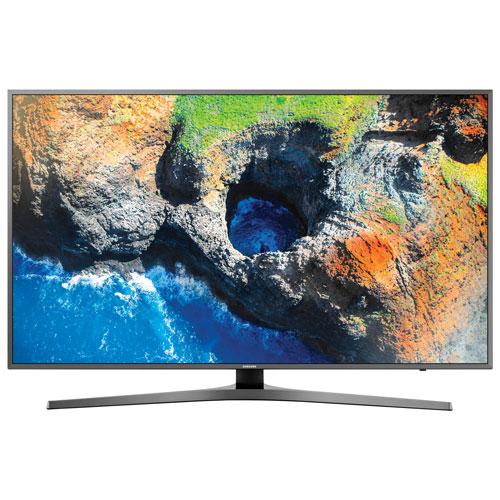 Téléviseur intelligent Tizen HDR DEL UHD 4K de 49 po de Samsung (UN49MU7000FXZC) - Noir - Boîte ouv.