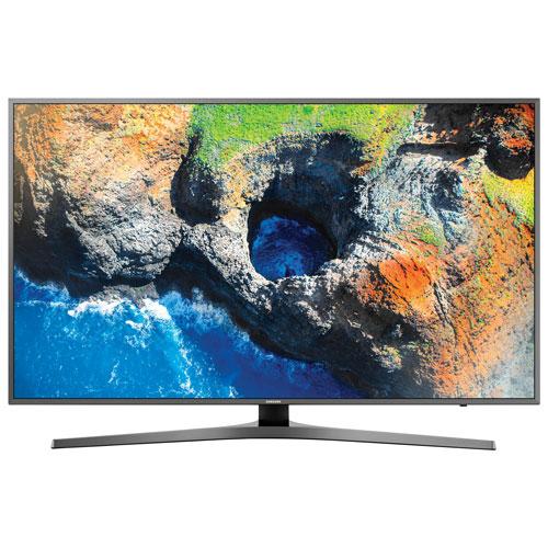 Téléviseur intelligent Tizen HDR DEL UHD 4K de 55 po de Samsung (UN55MU7000FXZC) - Noir - BO