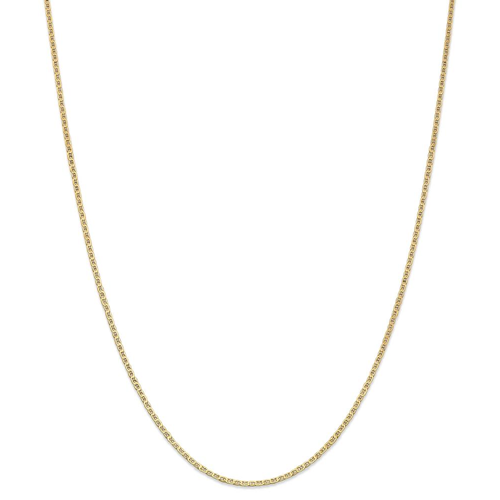 New! IceCarats 14k Yellow Gold 1 5mm Anchor Cuban Link Chain Anklet For  Women Ankle Beach Bracelet 9 Inch - Online Only