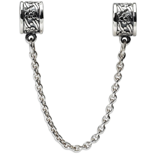 IceCarats 925 Sterling Silver Charm For Bracelet Security Chain Floral Bead    Bracelets - Best Buy Canada a965dd3fd