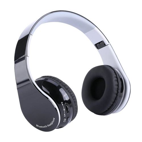 Foldable Bluetooth4.1 Wireless Gaming Headset with Receiver for PS4 Portable Music Stereo Sports Headphone for Smartphone