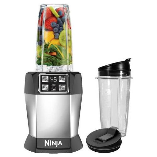 ענק Nutri Ninja Nutrient Extraction Single Serve Blender with Auto IQ ZC-83